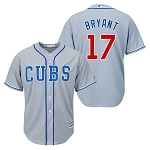 Cubs Bryant Men's Road Jersey Grey