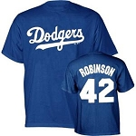 Dodgers Jackie Robinson Mens Shirt
