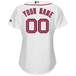 Boston Red Sox Personalized Women's Jersey
