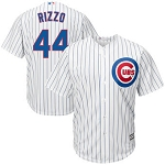 Anthony Rizzo Youth Cubs Home Pinstripe Jersey