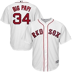 Big Papi Official Youth Home Red Sox Jersey