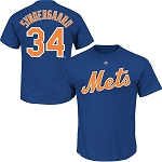New York Mets Noah Syndergaard Youth Shirt