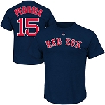 Red Sox Pedroia Shirt Boys Youth