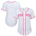 Red Sox Baby Pink Jersey by Majestic