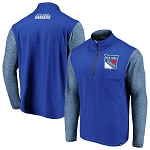 New York Rangers Made to Move Quarter-Zip Pullover Jacket
