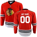 Chicago Blackhawks Personalized Kids Jersey