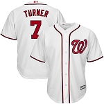Washington Nationals Trea Turner Youth Jersey