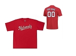 Washington Nationals Personalized T-Shirt