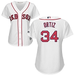 David Ortiz Official Women's Red Sox home Jersey