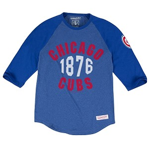 New Strike Out Raglan Chicago Cubs