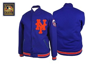 Mets Authentic Wool Jacket Vintage 1969 by Mitchell and Ness