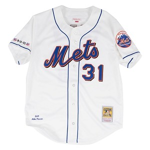 Mike Piazza Mitchell & Ness New York Mets 2001 Authentic Jersey