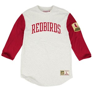 St. Louis Cardinals Redbirds 3/4 Length Shirt