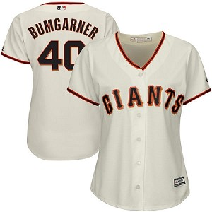 Giants Bumgarner Womens Jersey