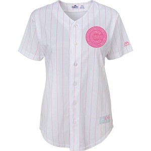 low priced 5dbe1 38971 Cubs Baby Pink Glitter Jersey