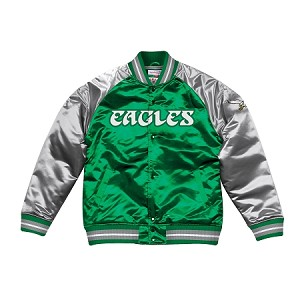 Tough Season Satin Jacket Philadelphia Eagles