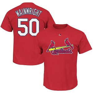 Cardinals Wainwright Official Youth Shirt