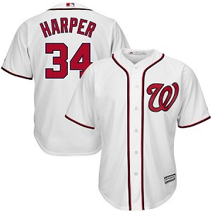 Washington Nationals Bryce Harper Jersey