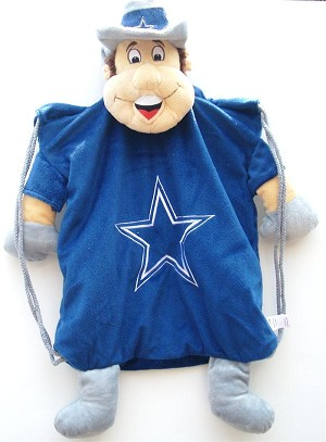 Dallas Cowboys Mascot Back Pack