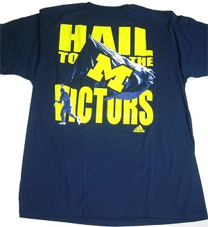University Of Michigan Hail To The Victors Shirt