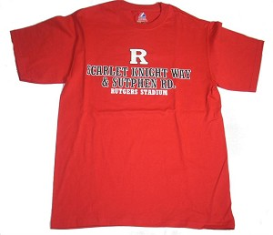 University of Rutgers Stadium T-Shirt