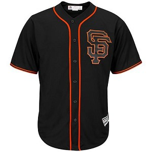 San Francisco Giants Personalized Alternate Black Jersey By Majestic