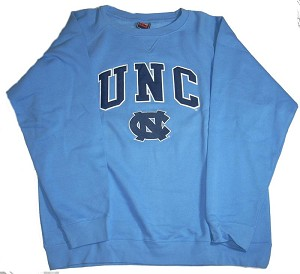 University of North Carolina Crew Sweatshirt