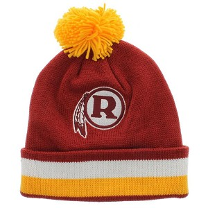 Redskins Vintage Winter Hat By Mitchell And Ness