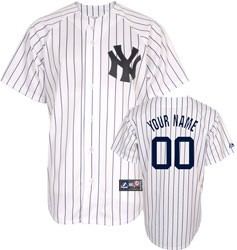 Yankees Personalized Youth Home Jersey