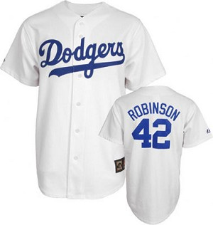 sports shoes a8b23 f2c1c Kids Jackie Robinson Jersey