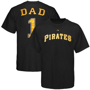 Pittsburgh Pirates Number One Dad Shirt