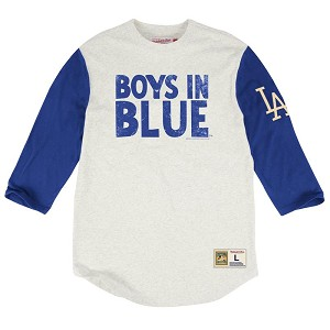 LA Dodgers Extra Out 3/4 Sleeve Shirt