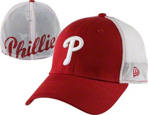 Phillies Stretch Fit Mesh Hat