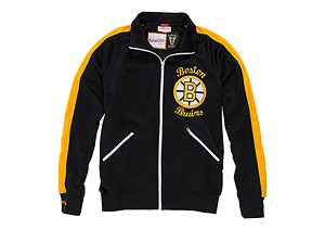 Boston Bruins Authentic 1984 -1985 Vintage Warm Up Jacket