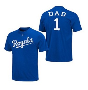 Kansas City Royals Number One Dad Shirt