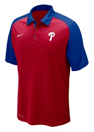 Phillies Nike Polo