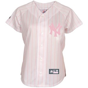 Yankees Girls Personalized Pink Jersey