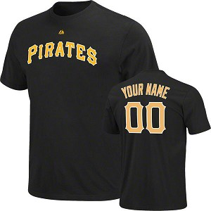 Pittsburgh Pirates Personalized Adult Shirt