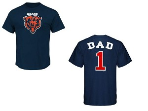Chicago Bears Number One Dad Shirt