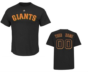 San Francisco Giants Youth Personalized Shirt