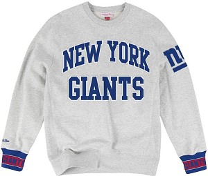 New York Giants Vintage Sweatshirt By Mitchell And Ness