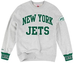 New York Jets Vintage Sweatshirt By Mitchell and Ness