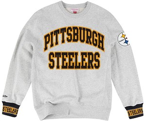 Steelers Vintage Sweatshirt  By Mitchell and Ness