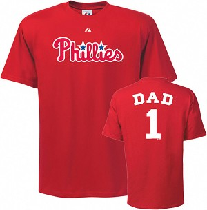 Phillies Number One Dad Shirt