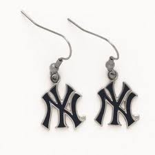 Yankees Logo Earrings