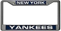 Yankees Laser License Plate Frame
