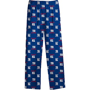 New York Giants Youth Flannel Pajama Pants