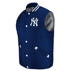 Yankees Tailgate Vest By Mitchell And Ness