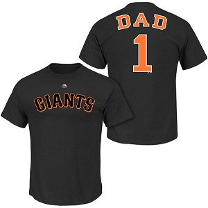 San Francisco Giants Number One Dad Shirt
