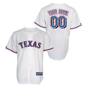 Texas Rangers Personalized Kids Jersey